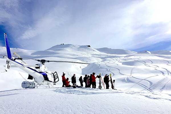 Heli-Ski with Harris Mountains Heliski