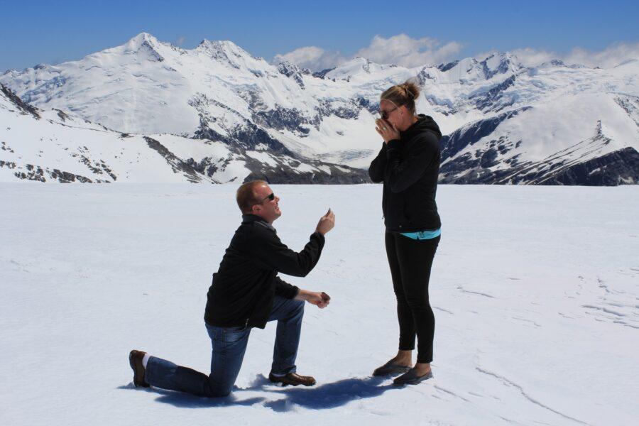 Isobel Glacier Wedding Proposal